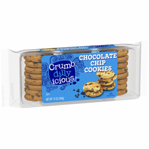 Crumbdillyicious™ Chocolate Chip Cookies Perspective: front
