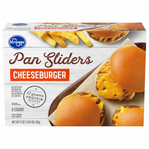 Kroger® Cheeseburger Pan Sliders Perspective: front