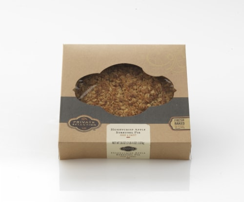 Private Selection™ Honeycrisp Apple Streusel Pie Perspective: front