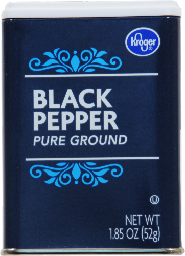 Kroger® Pure Ground Black Pepper Perspective: front
