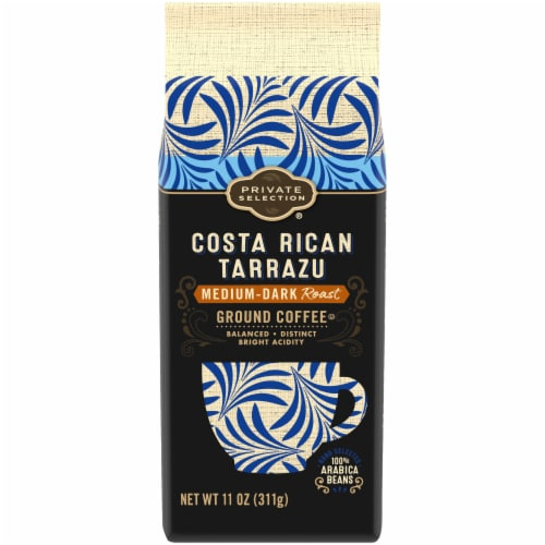 Private Selection® Costa Rican Tarrazu Medium-Dark Roast Ground Coffee Perspective: front