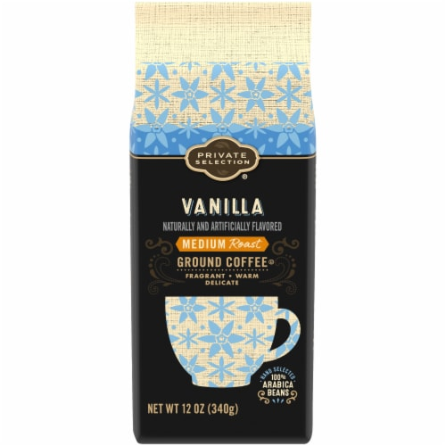 Private Selection® Vanilla Medium Roast Ground Coffee Perspective: front