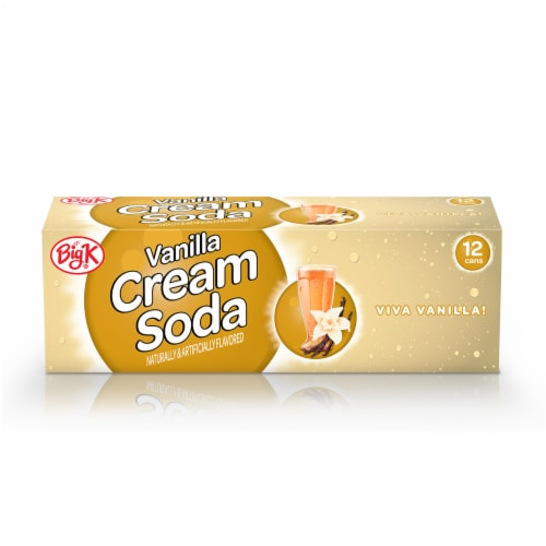 Big K® Vanilla Cream Soda Perspective: front