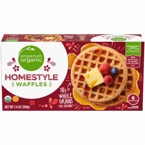Simple Truth Organic™ Homestyle Waffles Perspective: front