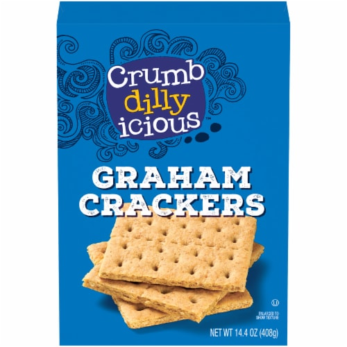 Crumbdillyicious™ Graham Crackers Perspective: front