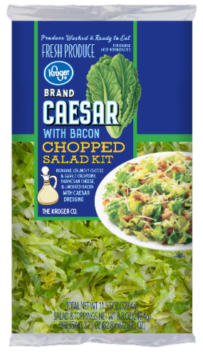 Kroger® Bacon Caesar Chopped Salad Kit Perspective: front