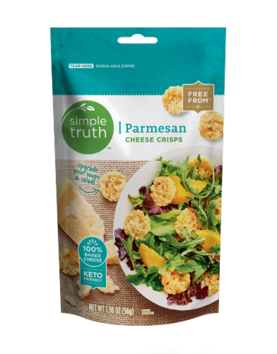 Simple Truth™ Parmesan Cheese Crisps Perspective: front