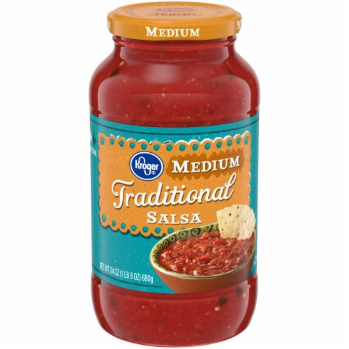 Kroger® Traditional Medium Salsa Perspective: front