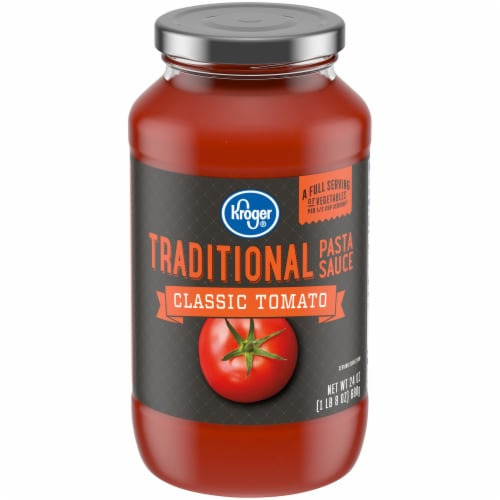 Kroger® Classic Tomato Traditional Pasta Sauce Perspective: front