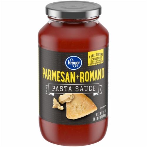 Kroger® Parmesan + Romano Pasta Sauce Perspective: front