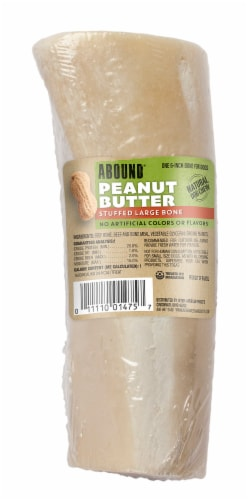 Abound Peanut Butter Stuffed Bone Perspective: front