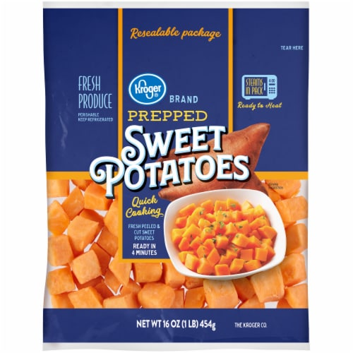 Kroger® Prepped Sweet Potato Cubes Perspective: front