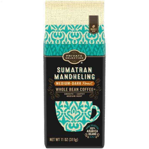 Private Selection™ Sumatran Mandheling Medium-Dark Roast Whole Bean Coffee Perspective: front