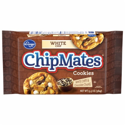 Kroger® ChipMates Chocolate Chunk & White Chip Cookies Perspective: front