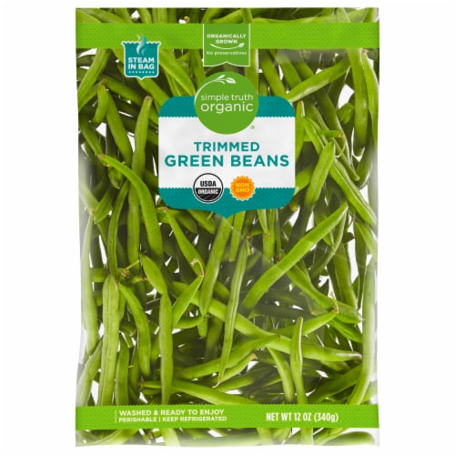 Simple Truth Organic® Green Beans Perspective: front