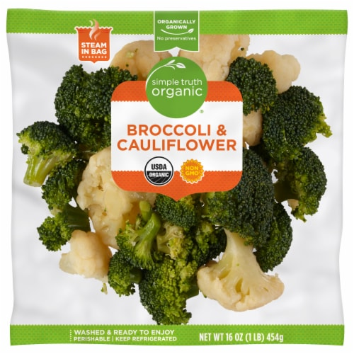 Simple Truth Organic® Broccoli & Cauliflower Perspective: front
