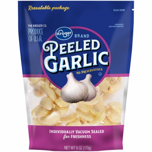 Kroger® Peeled Garlic Perspective: front