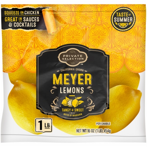 Private Selection™ California Grown Meyer Lemons Perspective: front