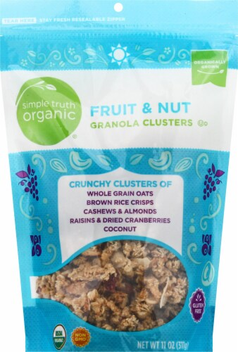 Simple Truth Organic® Fruit & Nut Granola Clusters Perspective: front