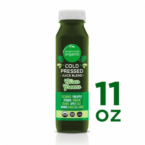 Simple Truth Organic® Citrus Greens Cold Pressed Juice Blend Perspective: front