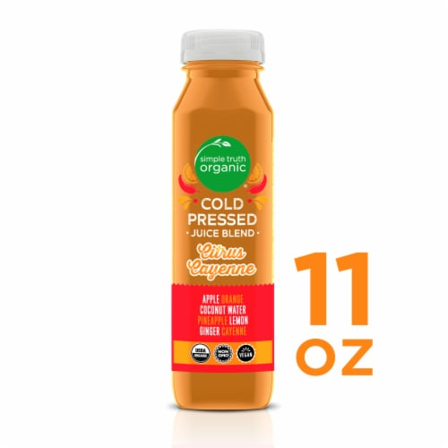 Simple Truth Organic® Citrus Cayenne Cold Pressed Juice Blend Perspective: front