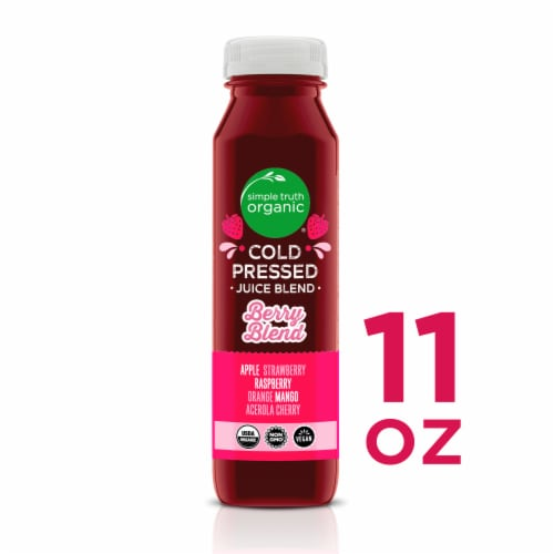 Simple Truth Organic® Berry Cold Pressed Juice Blend Perspective: front