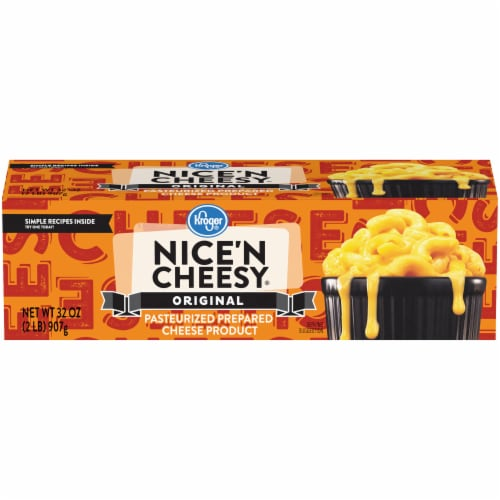 Kroger® Original Nice 'N Cheesy Pasteurized Prepared Cheese Product Perspective: front