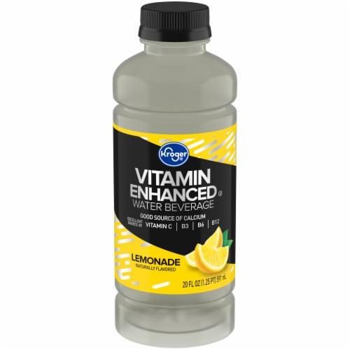 Kroger® Lemonade Vitamin Enhanced Water Perspective: front