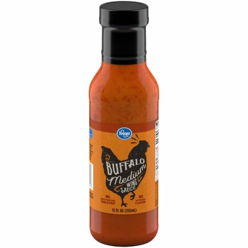 Kroger® Medium Buffalo Wing Sauce Perspective: front