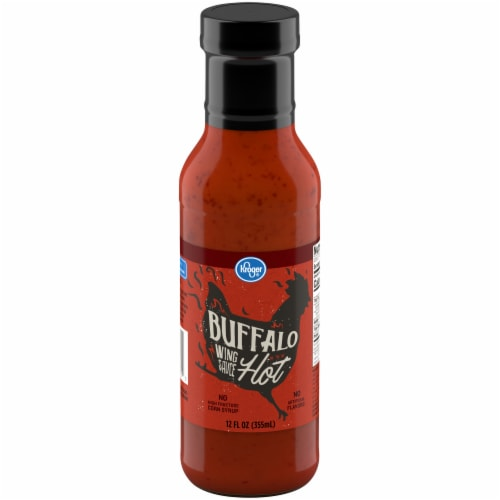 Kroger® Hot Buffalo Wing Sauce Perspective: front