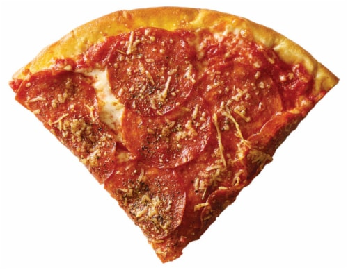 Xtreme Pepperoni Pizza Slice Perspective: front