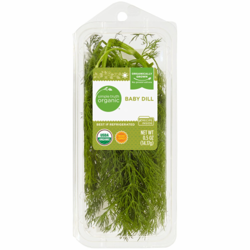 Simple Truth Organic Baby Dill Perspective: front