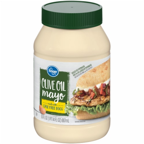 Kroger®  Olive Oil Mayo Perspective: front