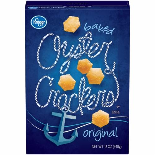 Kroger® Original Oyster Crackers Perspective: front