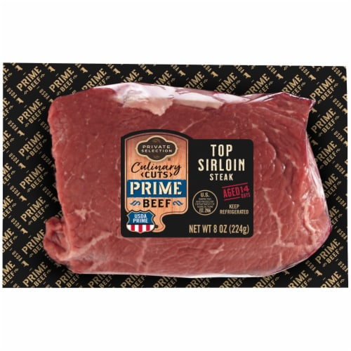 Private Selection® Culinary Cuts Prime Beef Top Sirloin Steak Perspective: front