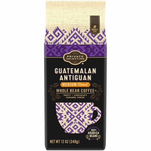 Private Selection® Guatemalan Antiguan Medium Whole Bean Coffee Perspective: front