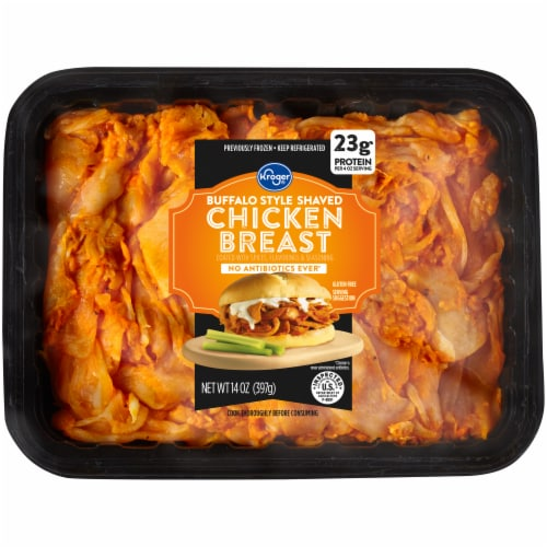 Kroger® Shaved Buffalo Chicken Breast Perspective: front