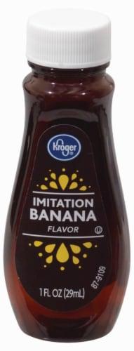Kroger®  Imitation Banana Flavor Perspective: front