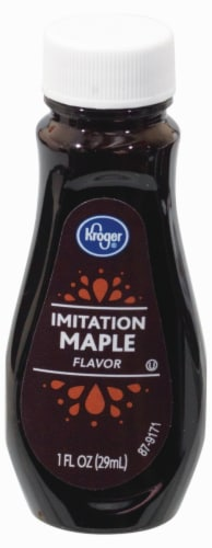 Kroger® Imitation Maple Flavor Perspective: front