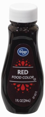 Kroger® Red Food Coloring Perspective: front