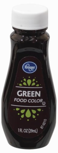 Kroger® Green Food Coloring Perspective: front