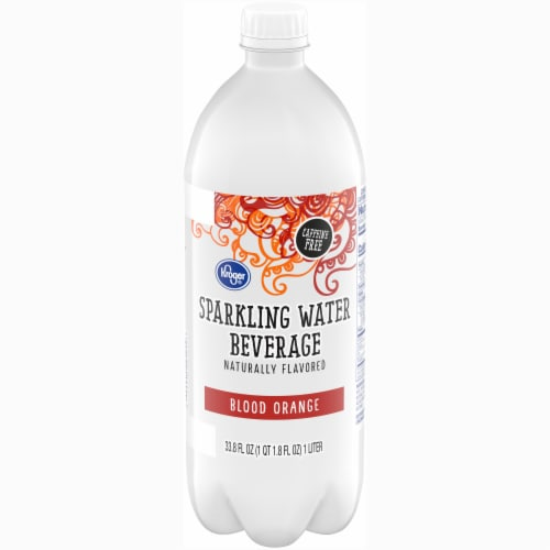 Kroger® Blood Orange Sparkling Water Perspective: front