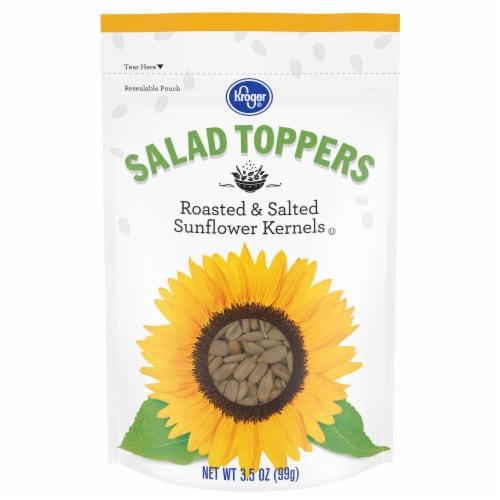 Kroger® Salad Toppers Roasted & Salted Sunflower Kernels Perspective: front