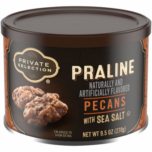 Private Selection® Praline Pecans With Sea Salt Perspective: front