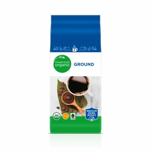 Simple Truth Organic™ Medium Dark Roast Ground Coffee Perspective: front