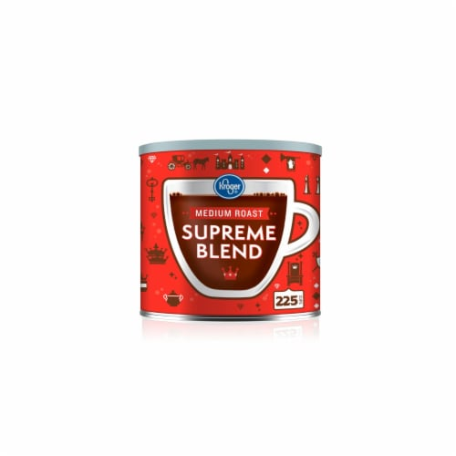 Kroger®  Supreme Blend Medium Roast Ground Coffee Perspective: front