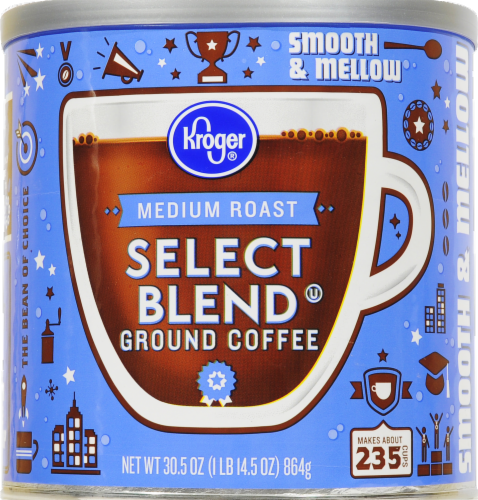 Kroger® Select Blend Medium Roast Ground Coffee Perspective: front