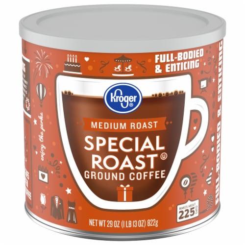 Kroger Special Roast Medium Roast Ground Coffee Perspective: front