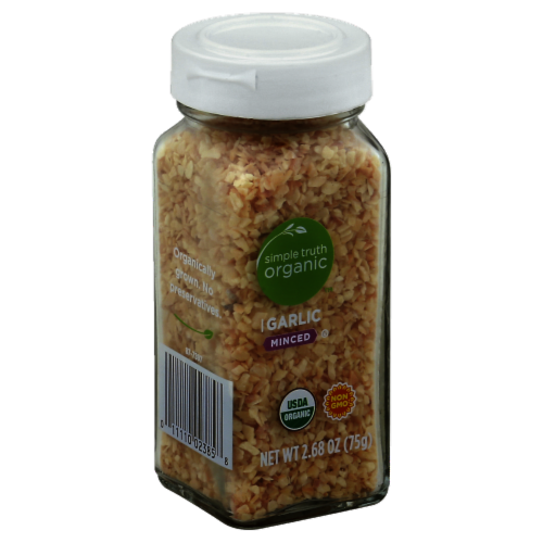 Simple Truth Organic™ Minced Garlic Perspective: front