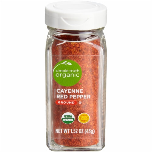 Simple Truth Organic™ Ground Cayenne Red Pepper Perspective: front